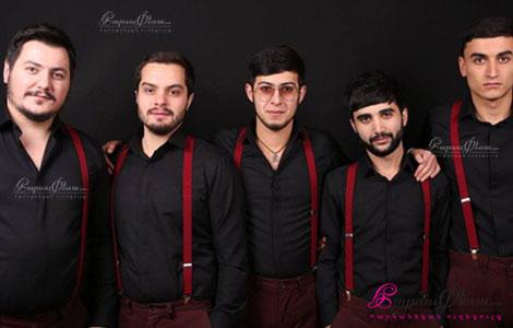New Band վոկալ գործիքային համույթի ելույթը հարսանիքին Երևանում