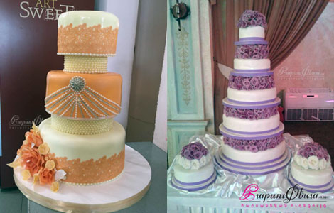 Artsweet Cakes - красивые и аппетитне свадебные торты