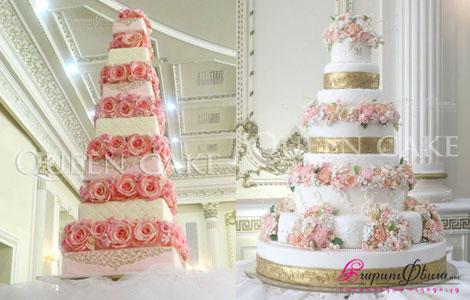 Свадебный торт от QUEEN CAKE