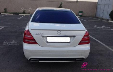 Harsi avto varordov spitak Mercedes S class