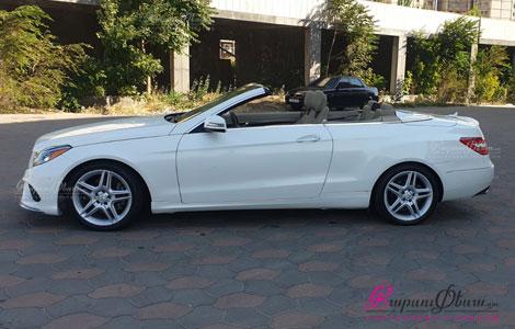 Кабриолет для свадьбы - Mercedes CLK