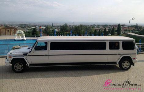 Mercedes gelenvagen (yachik) limuzin harsanekan meqena