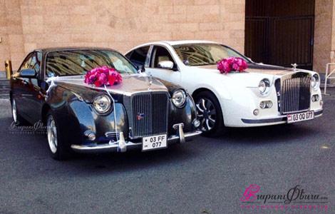 Retro meqenaner Rolls Royce harsaniqi hamar