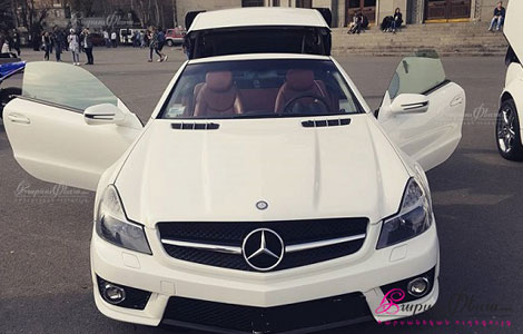 Nor kupe cabriolet Mercedes AMG SL 63 harsaniqi hamar
