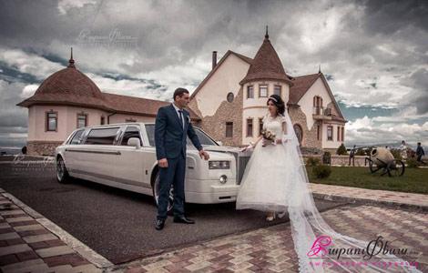 Единственный лимузин для свадьбы Роллс-Ройс в Армении