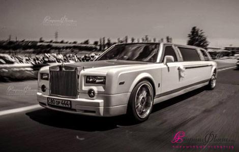 Harsi avto - Rolls Royce limuzin
