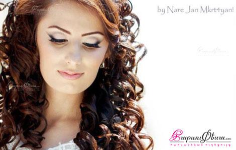 Հարսանեկան դիմահարդարում, ոճ  Miranda Beauty Salon