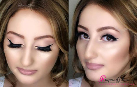 Harsanekan make up, sanrvacqner, honqeri dzevavorum, tartichneri amrecum, dimahardarum Miranda Beauty Salon