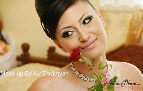 NV Dovlatyan Make Up - հարսանեկան դիմահարդարում