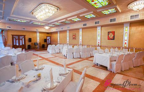 Большой банкетный зал в ресторанном комплексе Аркаядзор