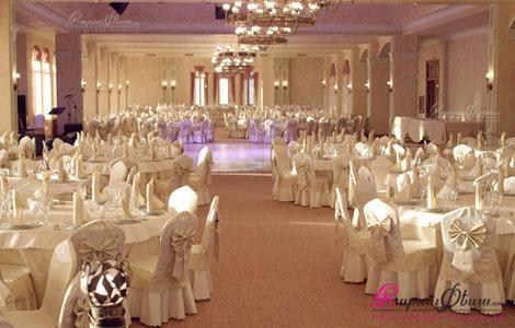 Свадебный зал в ресторанном комплексе Кавказ