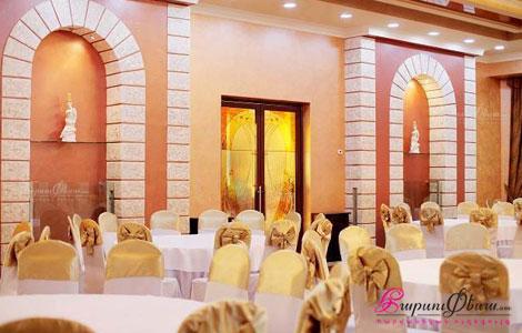 Էտնա ռեստորանային համալիրի հարսանյաց սրահ