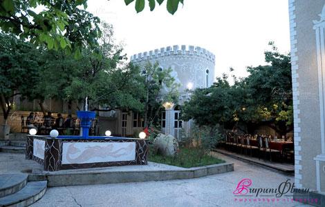 Ресторан Тун Киликио - шикарная зона для свадьбы летом на природе