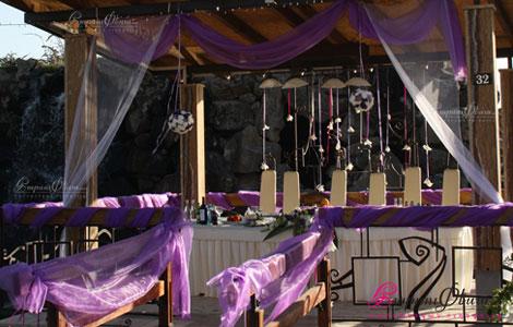 Ծիրանի ռեստորանային համալիր - հարս ու փեսայի սեղան
