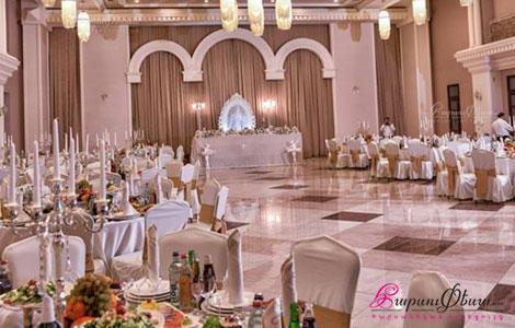 Банкетный зал для проведения свадьбы ресторана ВИВАЛЬДИ ХОЛЛ