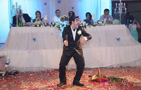 Шоу Чарли Чаплина на свадьбе в Ереване