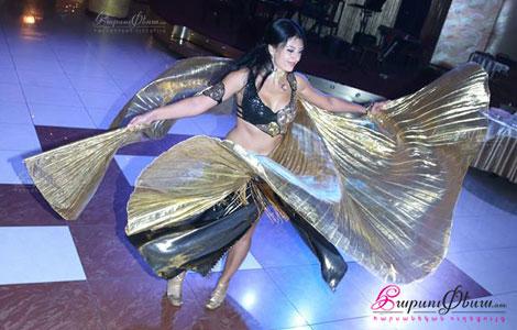 Эльдорадо - восточный танец на свадьбе в ресторане