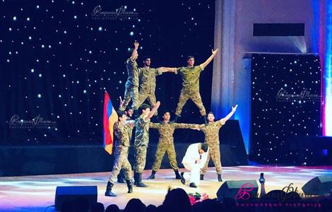 Хачатрян Данс Шоу - танец Берд на свадьбе