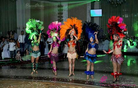 Լիաննա Խաչատրյան՝ բրազիլիական պարային շոու հարսանիքին ռեստորանում