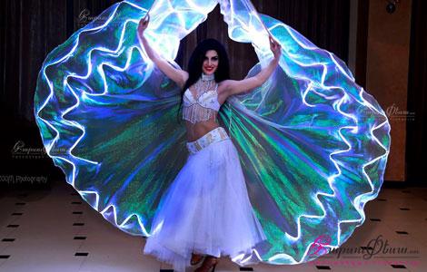 Լիաննա Խաչատրյան՝ լուսային եֆեկտով հարսանեկան պարային շոու