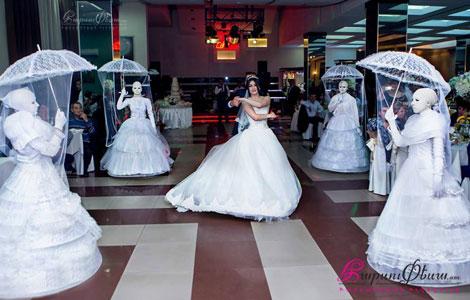 MA Dance - Постановка свадебного танца невесты с живыми скульптурами