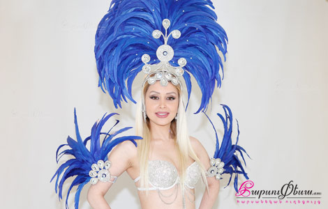 Шоу бразильский карнавал на свадьбе