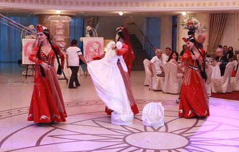 Постановка необычного свадебного танца для невесты от Ирэн Улихановой