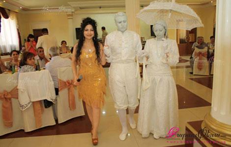 Universal Art - живые скульптуры и тамада на свадьбе