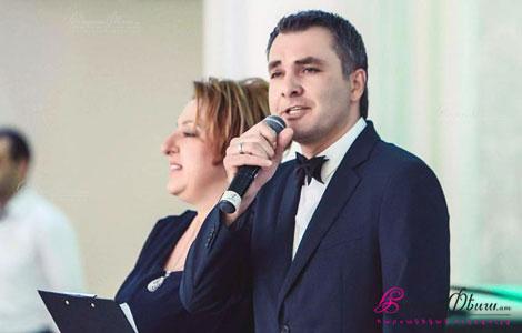 Թամադա Արմեն Սարգսյանը և Մաշան վարում են հարսանիք դուետով