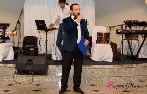 Tamada showman Artur Petrosyany varum e harsanyac handes