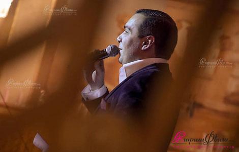 Свадебный ведущий - тамада Эрик Гезалян на армянской свадьбе