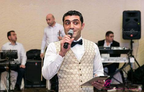 Армянский тамада и ведущий на свадьбе Карен Оганнисян