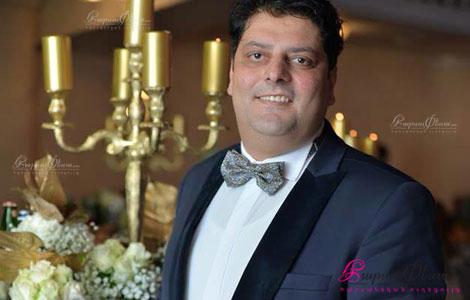 Шоумен и ведущий на свадьбе Симон Кандилян на свадебном мероприятии