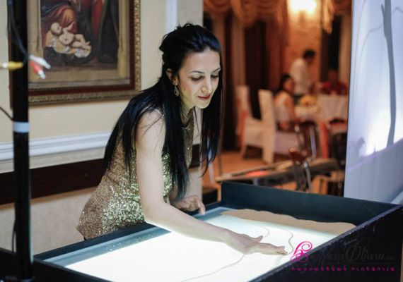 WEDDING SAND ART SHOW