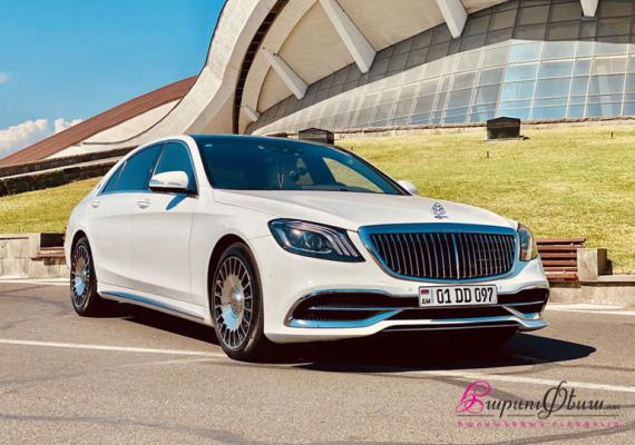 MERCEDES BENZ MAYBACH S-Class (W222)